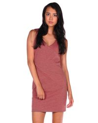 Jack BB Dakota | Orange Corina Stripe Dress | Lyst