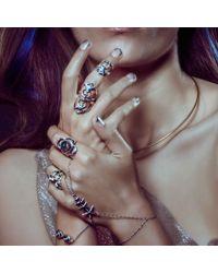 Pamela Love | Metallic Stardust Handpiece | Lyst