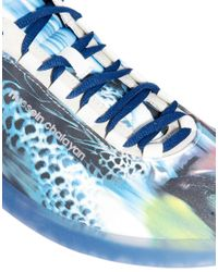 PUMA - Blue Chalayan Conflate Printed Trainers for Men - Lyst