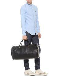 JW Hulme   Black Continental Duffel Bag for Men   Lyst