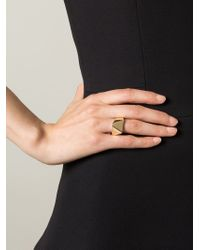 Wouters & Hendrix | Metallic Geometric Ring | Lyst