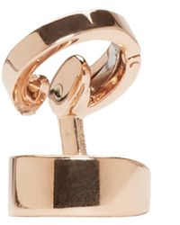 Repossi | Pink Rose Gold Double Berbere Ear Cuff | Lyst