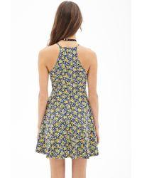 Forever 21 - Multicolor Ditsy Floral Skater Dress - Lyst