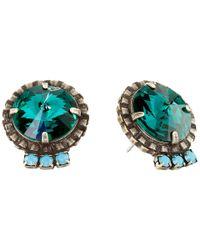 DANNIJO | Blue Bracco Earrings | Lyst
