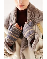 Urban Outfitters - Multicolor Boucle Shortie Fingerless Glove - Lyst
