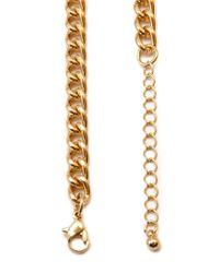 Forever 21 - Metallic Braided Chain Necklace - Lyst