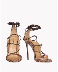 DSquared² | Brown Riri Sandals | Lyst