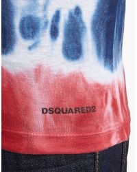 DSquared² - Yellow Renny Fit T-shirt - Lyst