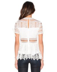 Alexis | White Juliana Top | Lyst