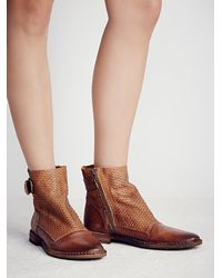Free People | Brown Fp Collection Womens Immortalia Ankle Boot | Lyst