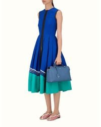 Fendi - Blue Large By The Way Large By The Way - Lyst