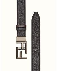 Fendi - Black Belt Belt for Men - Lyst