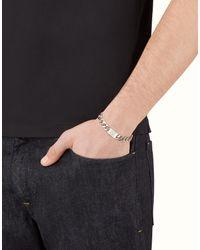 Fendi - Gray Bracelet Bracelet for Men - Lyst