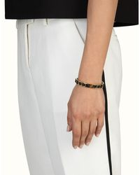 Fendi - Black The Sta Bracelet - Lyst