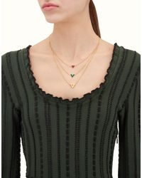 Fendi - Multicolor Rainbow Necklace Rainbow Necklace - Lyst