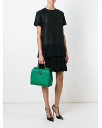 Dolce & Gabbana - Green 'miss Sicily' Tote - Lyst