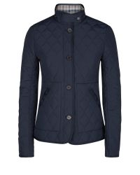 Aquascutum | Blue Stoney Quilted Jacket | Lyst