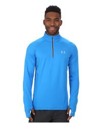Under Armour | Blue Ua Launch 1/4 Zip for Men | Lyst