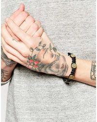 Love Bullets | Black Lovebullets Woven Bullet Bracelet for Men | Lyst