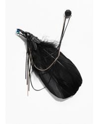 & Other Stories | Black Feather Brooch | Lyst