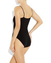 Spanx - Black Undie-tectable Stretch Bodysuit - Lyst