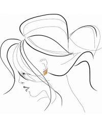 Ca&Lou - Metallic Inez Lobo Ear Cuff - Lyst
