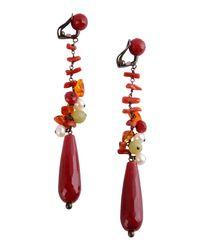 Donatella Pellini | Red Earrings | Lyst