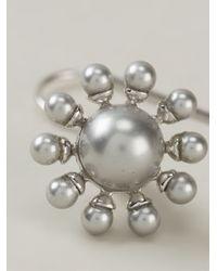 Vivienne Westwood   Metallic Orb Earrings   Lyst