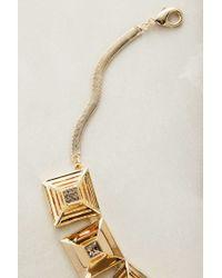 Sarah Magid | Metallic Cubiques Necklace | Lyst