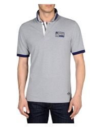 Napapijri | Gray Polo Shirt for Men | Lyst