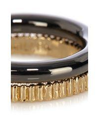 Karen Millen | Multicolor Coin Edge Finish Ring | Lyst