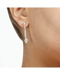 John Lewis - Metallic Cubic Zirconia Fan Collar And Drop Earrings Set - Lyst