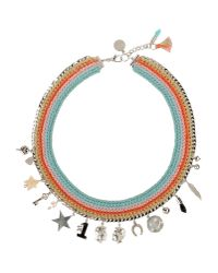 Venessa Arizaga - Blue Necklace - Lyst