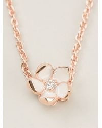 Shaun Leane | Pink Cherry Blossom Pendant Necklace | Lyst