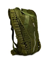 Christopher Raeburn - Green 'Amigos' Strappy Backpack for Men - Lyst