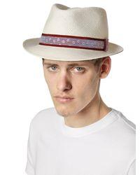 Lardini - Natural Straw Panama Hat for Men - Lyst