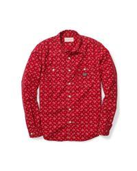 Denim & Supply Ralph Lauren - Multicolor Floral-print Cotton Workshirt for Men - Lyst