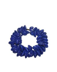 DSquared² | Dark Blue Shell Necklace | Lyst