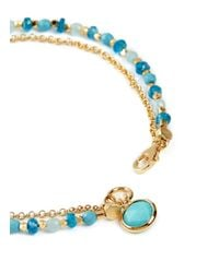 Astley Clarke - Blue 'be Very Cool' 18k Gold Turquoise Friendship Bracelet - Strength & Peace - Lyst