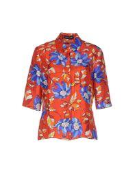 Ostwald Helgason - Blue Shirt - Lyst