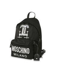 Moschino | Black Women's Backpack | Lyst