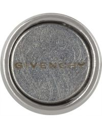 Givenchy - Metallic Small Shark Round Earring In Silver-Tone Brass, Stone And Faux Pearl - Lyst