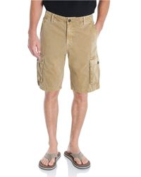 Lucky Brand | Natural Vista Cargo Shorts for Men | Lyst