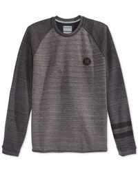 Hurley | Gray Arena Crew-neck Sweater for Men | Lyst