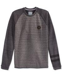 Hurley | Gray Arena Crew-neck Sweater for Men | Lyst