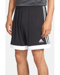 Adidas Originals | Black 'tastigo 15' Climacool Soccer Shorts for Men | Lyst