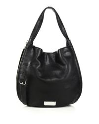 Marc By Marc Jacobs | Black New Q Zipper Hillier Hobo Bag | Lyst