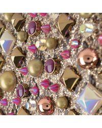 Christian Louboutin - Multicolor Loubi Glitter Clutch Bag - Lyst