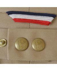 Moncler - Natural Pocket Detail Chinos for Men - Lyst