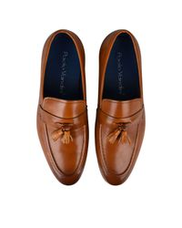 Paolo Vandini - Brown Leather Loafers for Men - Lyst